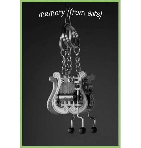 Keychain Lyre - Memory (from Cats)